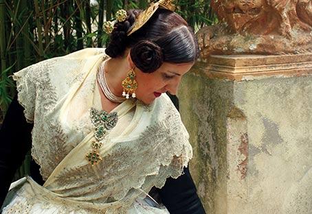 Curso vestido valenciana