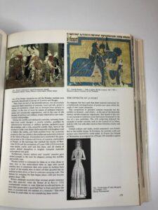 Traje antiguo egipcio del libro de 20000 años de historia de la moda