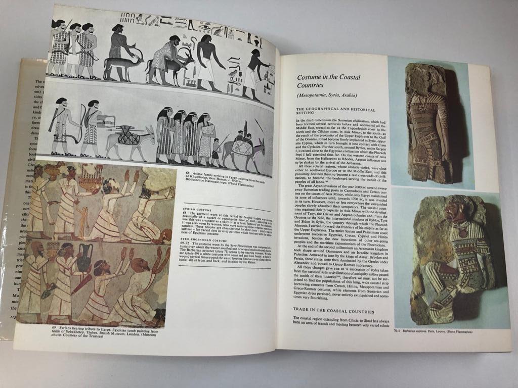Traje antiguo egipcio el libro de 20000 años de historia