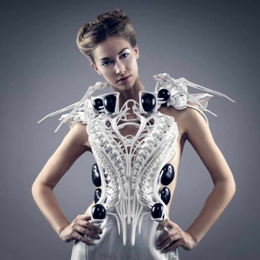 moda hecha con impresora 3d